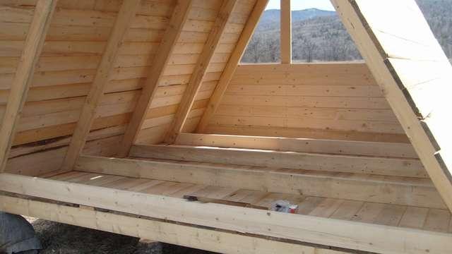 Опыт строительства домика